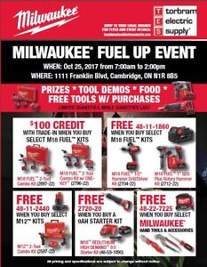Milwaukee Tool Sale: Oct 25, 2017 at Torbram Electric Supply