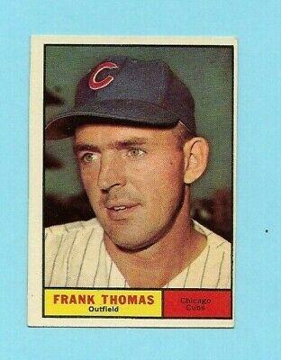 1961 Topps Baseball #382 Frank Thomas