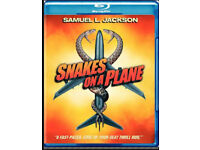 Snakes on a plane BLU-RAY (new sealed)