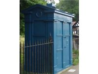 Edinburgh Police Box For Sale at Blackford Pond