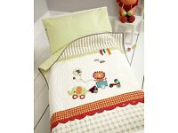 Mamas and Papas Nursery Jamboree Coverlet / Cot Quilt / Bedding