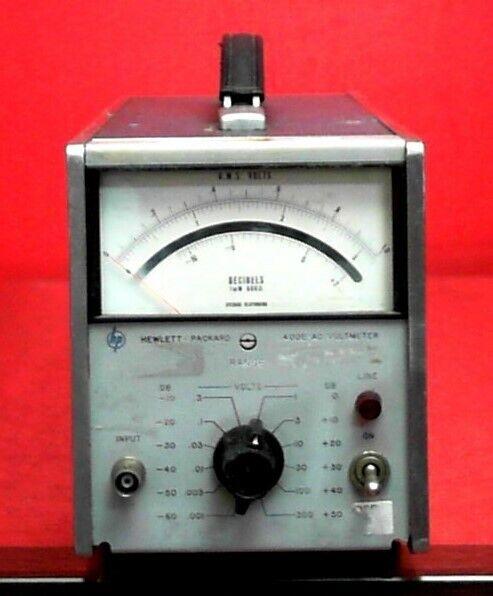 HP - Agilent - Keysight 400E AC Voltmeter 53605660