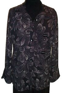 LIZ CLAIBORNE Tunic Blouse - Large - NEW