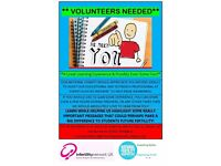 Volunteers Required - National Charity - Assisting Professional at Freshers, Open Days and more