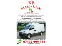 KB MAN & VAN REMOVALS / LARGE ITEMS