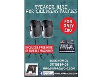 Kids Parties Speakers