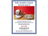 Motorola Additional Camera for Motorola MBP33 and MBP36 Baby Monitor for sale in forest row
