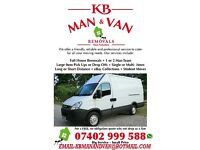 KB MAN AND VAN WESTYORKSHIRE