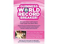 Your chance to be a World Record breaker