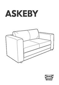 New Sofa Bed IKEA ASKEBY (worth £100)
