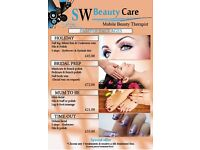 Mobile Beauty Therapist - Bradford, Waxing, Threading, Make Up, Massage, Manicure, Pedicure