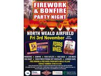 North Weald Airfield Fireworks Party