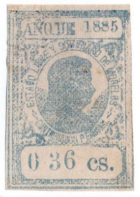 (I.B) Mexico Revenue : Cuernavaca Local Tax (1885)