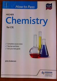 HODDER GIBSON HOW TO PASS HIGHER CHEMISTRY FOR CfE