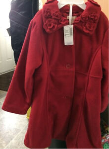 Brand New 4T Red coat