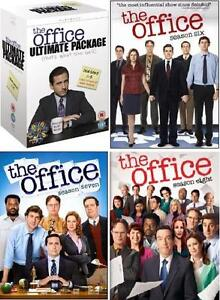 THE OFFICE Complete Seasons Series 1 2 3 4 5 6 7 & 8 *New & Sealed* Steve Carell