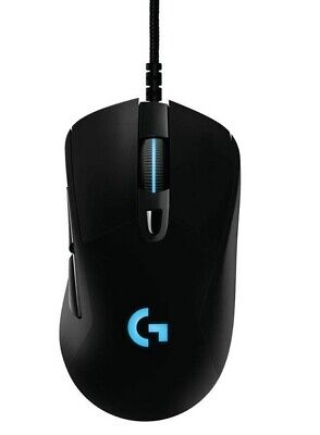 Logitech G403 Prodigy Wired Optical Gaming Mouse w/ 6 Buttons & RGB LED, Black