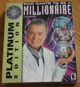 PC Game - Who Wants to be a Millionaire (3 game set)
