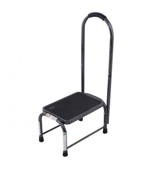 Step Stool with Handle Non-Slip Handy Support Safety 330 Lbs