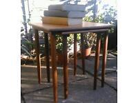 Two 60's Teak Side Tables