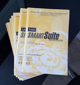 Lotus SmartSuite 9.5 Millennium Edition Lotus 123 Win XP, 7, 8,10 Brand New