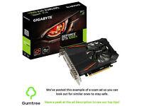 Gigabyte Nvidia GTX 1050 ti -- Read the ad description before replying!!