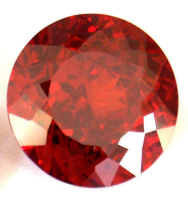 8.ct 12 mm Fancy Double Round Brilliant Cut Lab Created Ruby