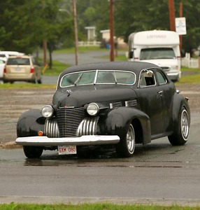 1940 Cadillac Fleetwood chopped & modified