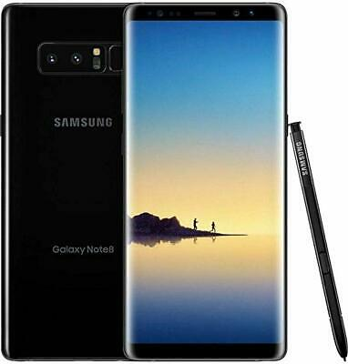 Samsung Galaxy Note 8 SM-N950U 64GB Factory Unlocked Smartphone - Midnight Black