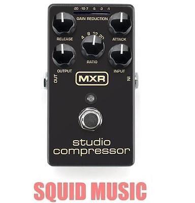 MXR Dunlop Studio Compressor M-76 Guitar Effect True Bypass M76 ( OPEN BOX )
