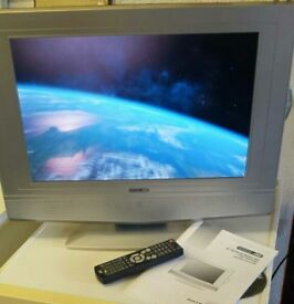 """19"""" Acoustic Solutions HD Ready Lcd TV Dvd combi"""