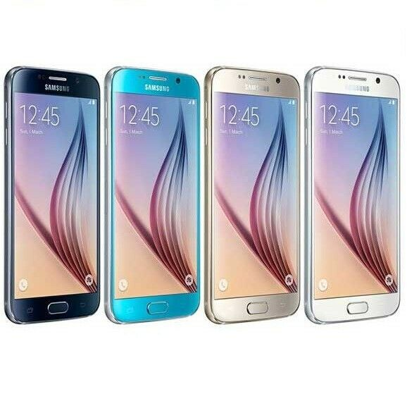 Android Phone - SAMSUNG GALAXY S6 G920 32GB 64GB 128GB - Unlocked - Smartphone Mobile Phone