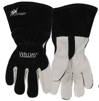 Weldas 10-2020 Arc Knight Premium Lined Migtig Welding Gloves Size Large