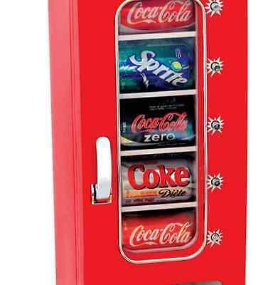 Cool Beverage Can Dispenser Storage Refrigerator Soda Holder Beer Coke Organizer