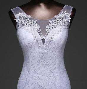 #A20 - Tailles 4 6 16 - Robe de mariée À JUSTE PRIX