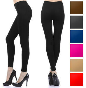 Full-Length-Leggings-Footless-Stockings-Long-Spandex-Tights-Stretch-Seamless