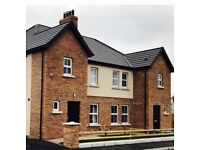 Gorgeous 3 bedroom semi detached house in the convenient location of Killyman Dungannon-turnkey!