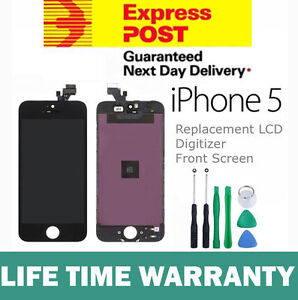 iPhone-5-Replacement-LCD-Digitizer-Front-Screen-Assembly-Panel-Tools-Black