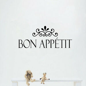 Bon Appetit Wall Decal | eBay