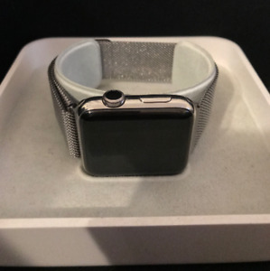 URGENT! Apple Watch Stainless 42mm Series 2 - Apple Care