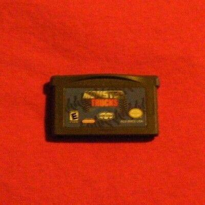 Monster Trucks GAME ONLY for your Nintendo GAMEBOY ADVANCE GBA - KIDS BOYS (Monster Games For Kids)