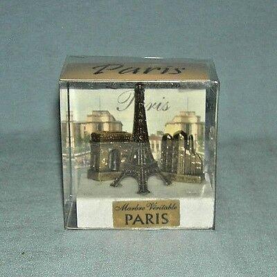 Paris France Souvenirs Metal Eiffel Tower Notre Dame Catherdral Triumphal Arch M