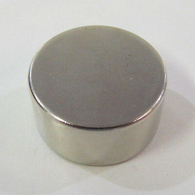 1x12 Big N52 Neodymium Magnet Disc Cylinder Rare Earth 25x13mm 54 Lbs 25kg