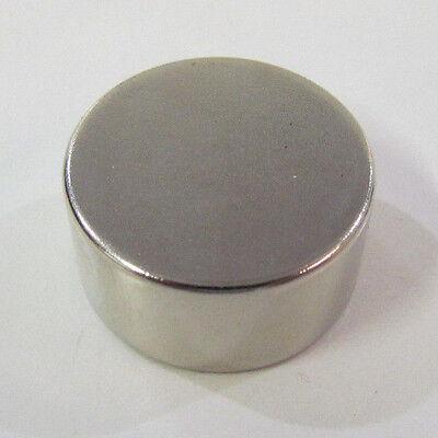 1x12 Big N52 Neodymium Magnet Disc Cylinder Rare Earth 25x13mm 54 Lbs 25kg