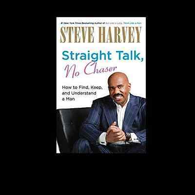 Straight Talk  No Chaser By Steve Harvey Free Shipping Keep And Understand A Man