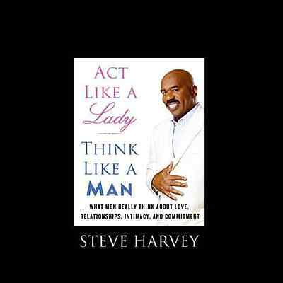 Act Like A Lady Think Like A Man By Steve Harvey Free Shipping Relationships
