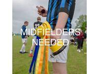 Midfielders needed! Adult Men's football. Chorlton/Didsbury
