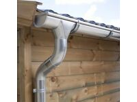 Zinc guttering kit for gabled roof | Available in galvanised, titanium zinc and anthracite