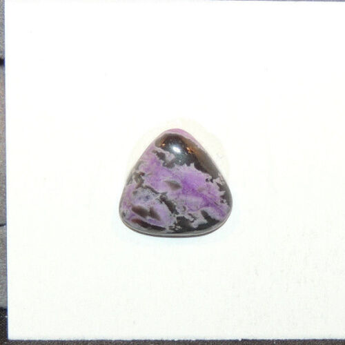 Sugilite Cabochon 13x13.5mm with 3.5mm dome (12504)