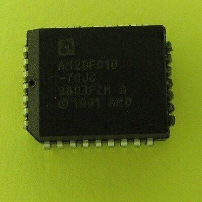 Am29f010-70jc Plcc Flash Memory Ic - Lot Of 20 Pieces New Nos Genuine
